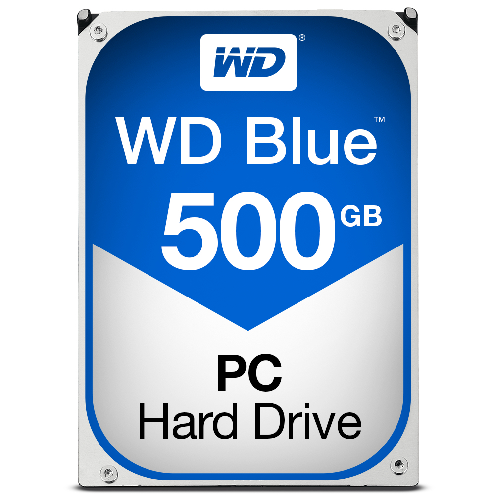 WESTERN DIGITAL BLUE HDD 500GB SERIAL ATA III INTERNAL HARD DRIVE
