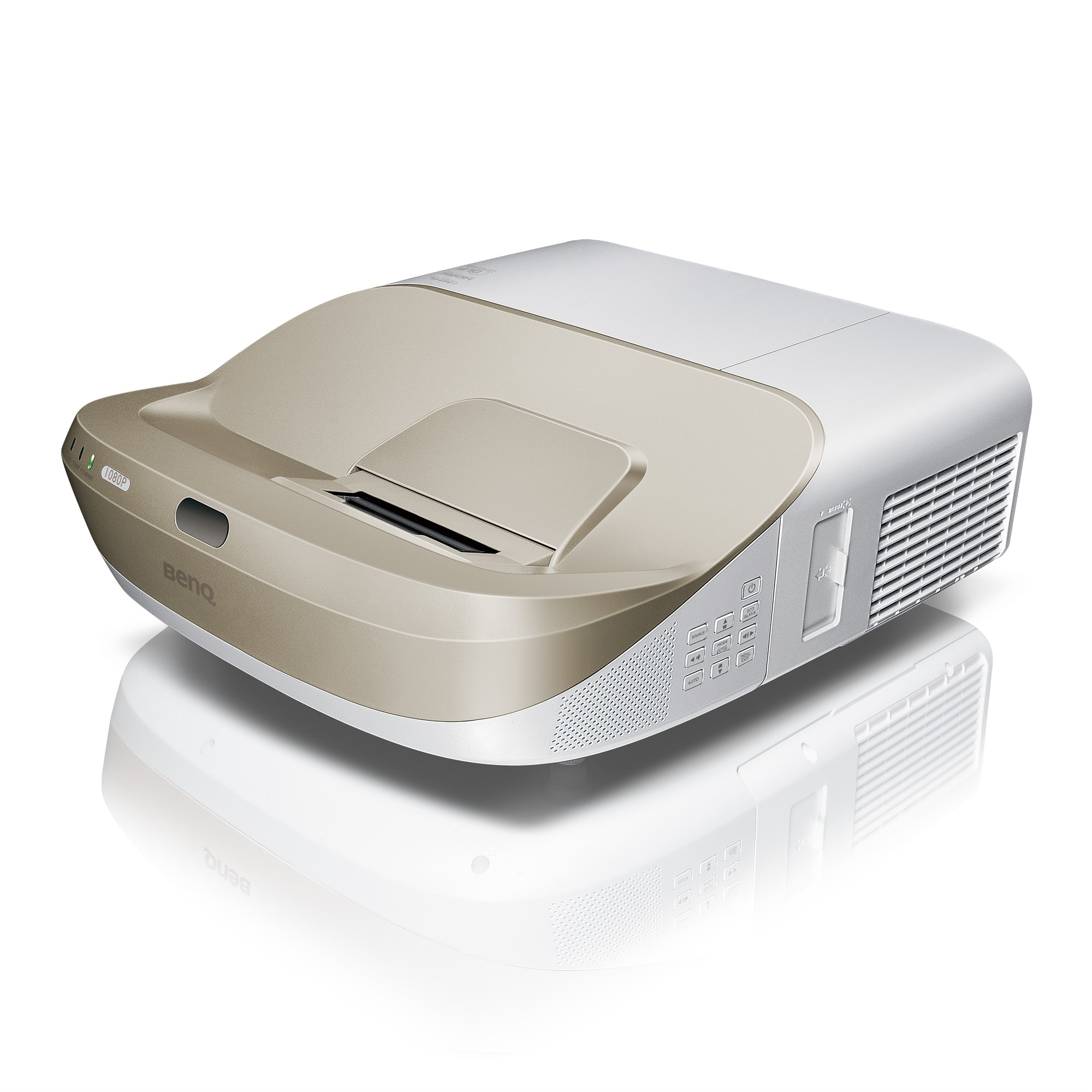 BENQ W1600UST DESKTOP PROJECTOR 3300ANSI LUMENS 1080P (1920X1080) GOLD, WHITE DATA