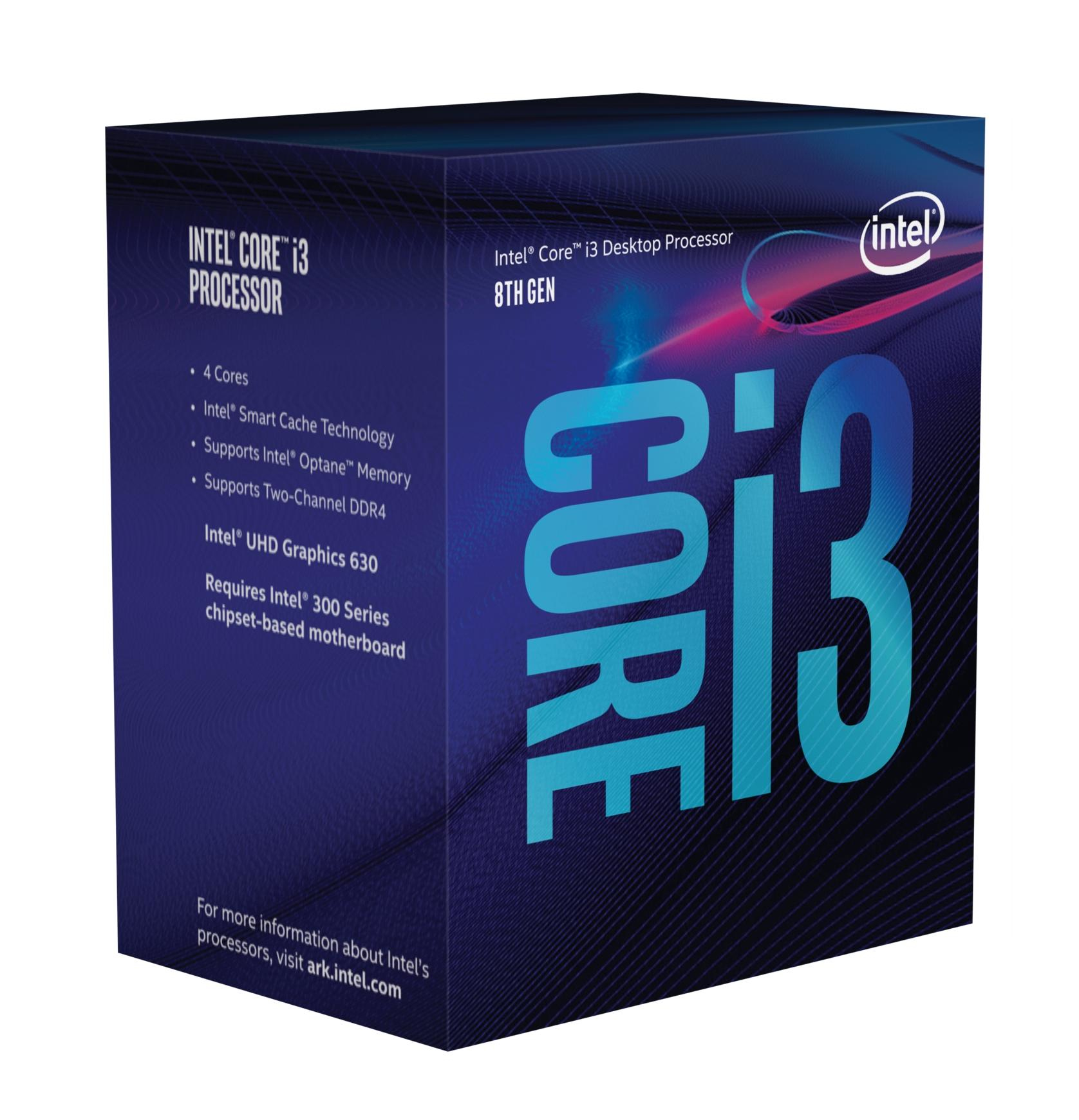 INTEL CORE I3-8350K PROCESSOR (8M CACHE, 4.00 GHZ) 4GHZ 8MB SMART CACHE BOX