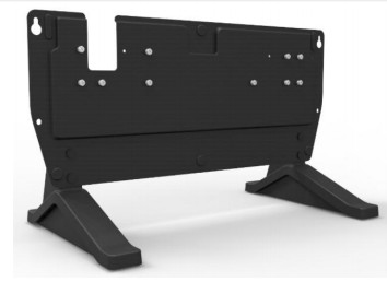 ZEBRA TC8000 DESK BRACKET FOR SHARECRADLE ALLOWS TO INSTALL ANY MULTI-SLOT CRADLE ON A FLAT SURFACE. (I.E.