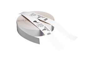 ZEBRA Z-BAND ULTRASOFT WHITE SELF-ADHESIVE PRINTER LABEL