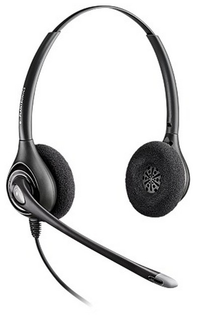 PLANTRONICS 39406-01 SUPRAPLUS DIGITAL D261N - A BINAURAL HEAD-BAND BLACK HEADSET