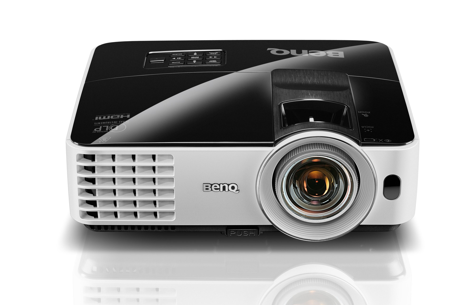BENQ MX631ST DESKTOP PROJECTOR 3200ANSI LUMENS DLP WXGA (1280X800) 3D BLACK,WHITE DATA