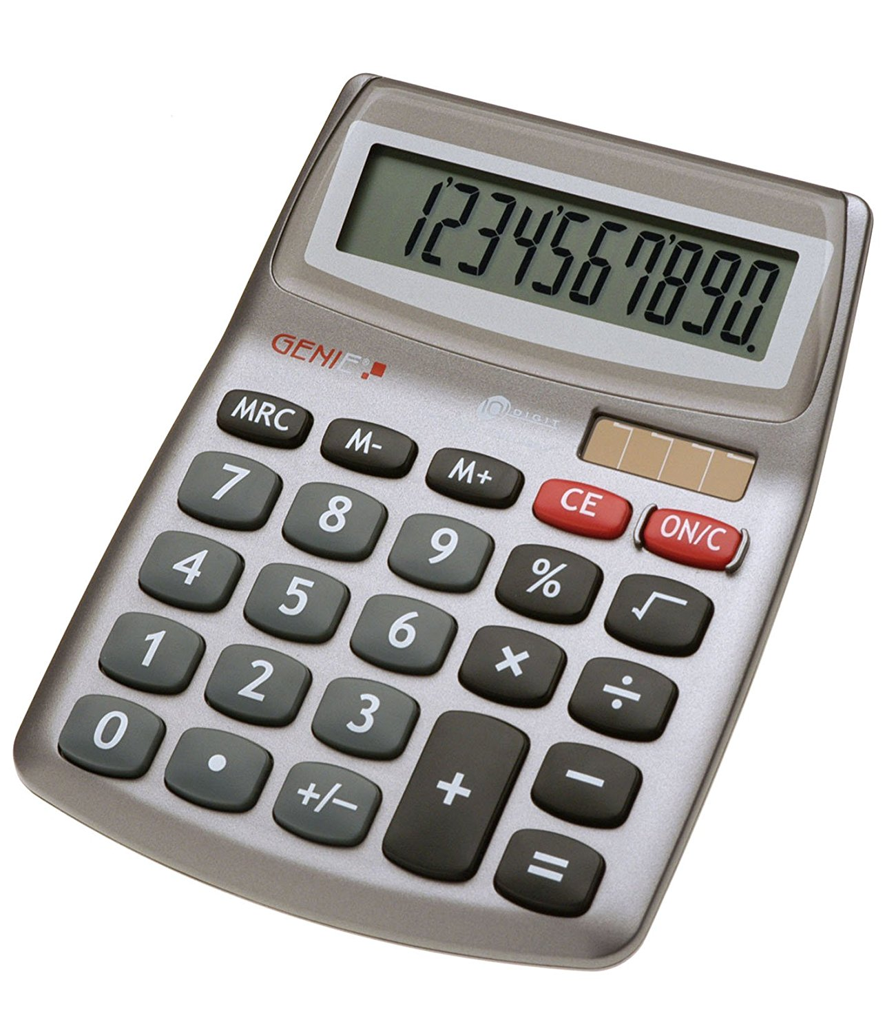 GENIE CCTV 10272 VALUE 540 10-DIGIT DESKTOP CALCULATOR
