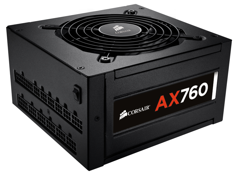 Corsair AX760 760W ATX Black power supply unit