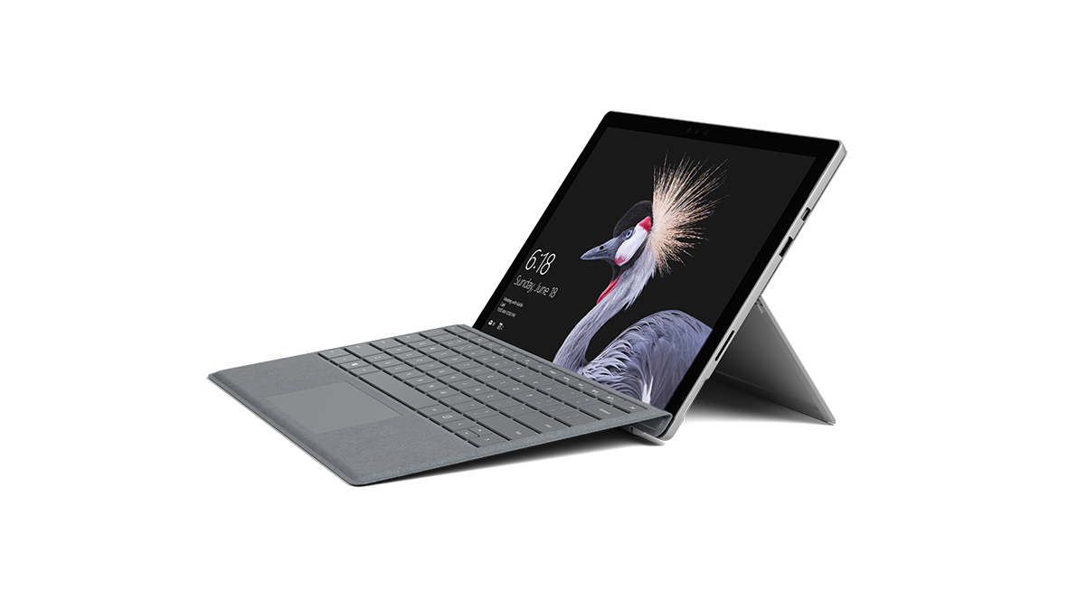 MICROSOFT FJR-00004 SURFACE PRO 128GB BLACK, SILVER TABLET