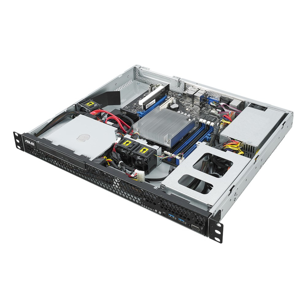 ASUS RS100-E10-PI2 Intel C242 LGA 1151 (Socket H4) Rack (1U) Black,Metallic
