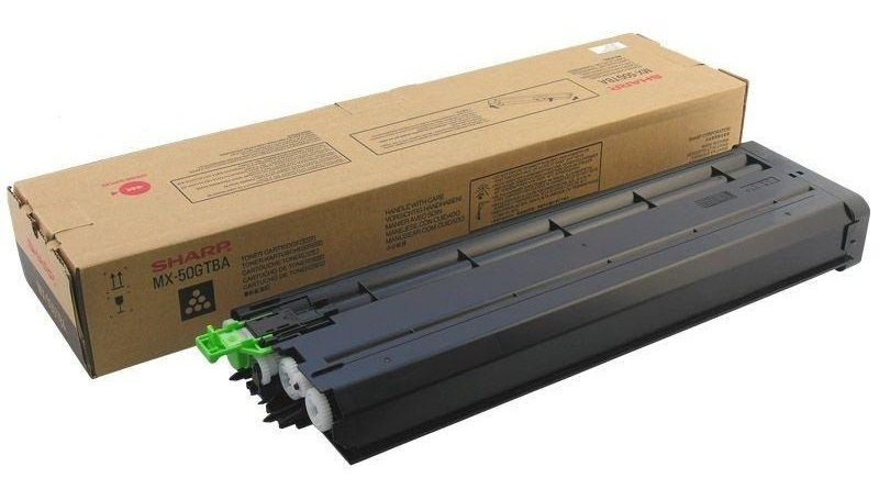 SHARP MX-50GTBA TONER BLACK, 36K PAGES @ 5% COVERAGE