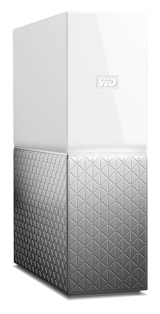 WESTERN DIGITAL MY CLOUD HOME 4TB ETHERNET LAN GREY PERSONAL STORAGE DEVICE