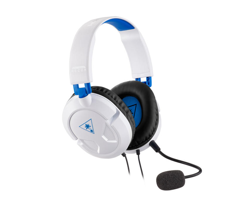TURTLE BEACH TBS-3304-02 EAR FORCE RECON 50P, GAME CONSOLE + PC - GAMING, BINAURAL, HEAD-BAND, BLACK, BLUE, WHITE, DIGITAL, XBOX ONE, PLAYSTATION 4, 4 P
