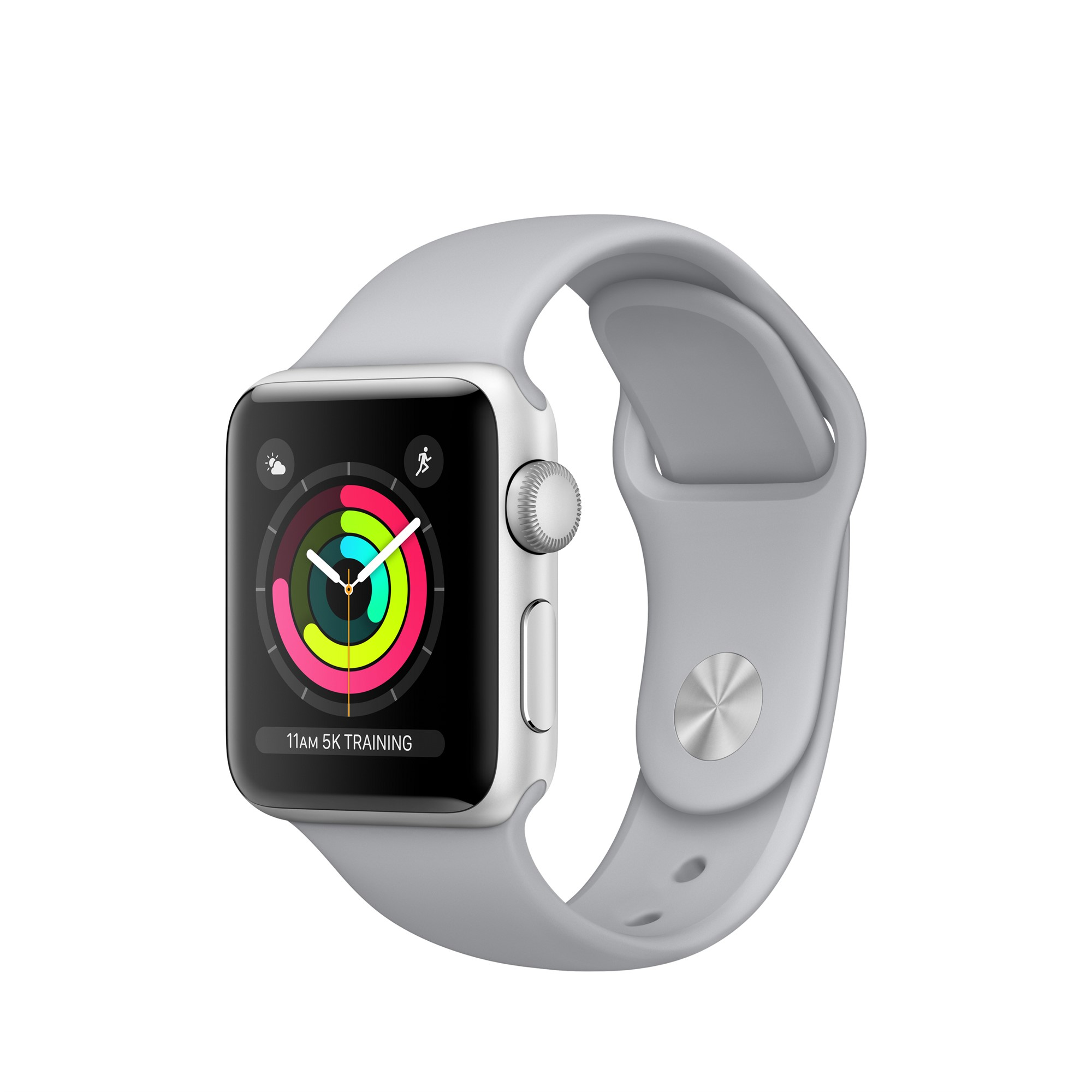 APPLE WATCH SERIES 3 OLED GPS (SATELLITE) SILVER SMARTWATCH