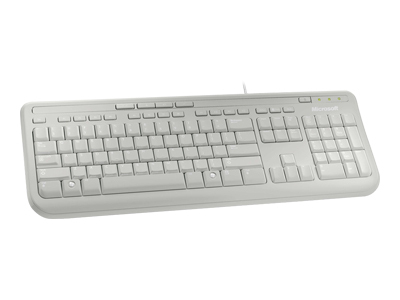 MICROSOFT ANB-00026 WIRED KEYBOARD 600, WHITE