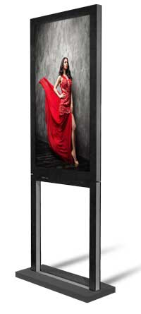 DYNASCAN DS551DR4 DIGITAL SIGNAGE FLAT PANEL 55