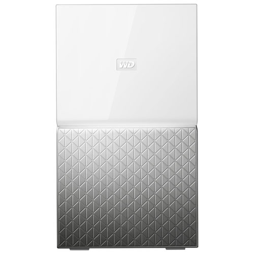 WESTERN DIGITAL MY CLOUD HOME DUO 6 TB 6TB ETHERNET LAN SILVER, WHITE