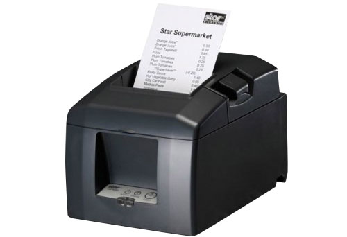 STAR MICRONICS 39449410 TSP654IIC ENTRY-LEVEL RECEIPT THERMAL PRINTER, AUTOCUTTER, PARALLEL