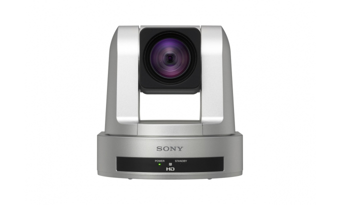 SONY SRG-120DU INDOOR & OUTDOOR SILVER SECURITY CAMERA