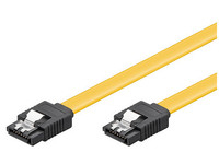 MICROCONNECT SAT15003C6 0.3M YELLOW SATA CABLE