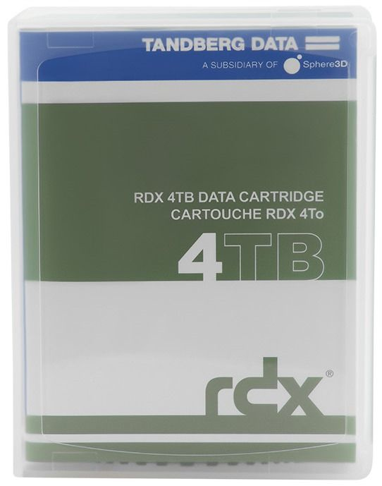 TANDBERG 8824-RDX DATA RDX QUIKSTOR 4TB HDD 4000GB INTERNAL HARD DRIVE