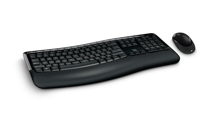MICROSOFT PP4-00008 WIRELESS COMFORT DESKTOP 5050 RF + USB QWERTZ GERMAN BLACK