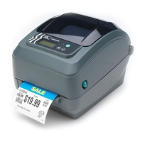 ZEBRA GX420D DIRECT THERMAL 203 X 203DPI LABEL PRINTER