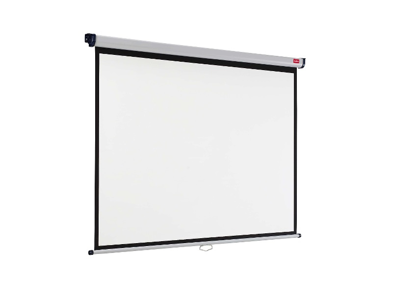 NOBO 1902391 WALL MOUNTED PROJECTION SCREEN 1500X1138MM