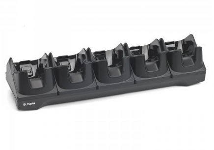 ZEBRA CHARGING/TRANSMITTER CRADLE, 5 SLOTS, ETHERNET
