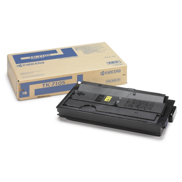 KYOCERA 1T02P80NL0 (TK-7105) TONER BLACK, 20K PAGES @ 6% COVERAGE