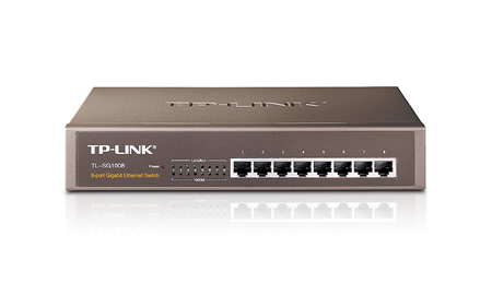 TP-LINK TL-SG1008 UNMANAGED NETWORK SWITCH