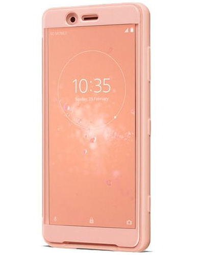 SONY SCTH50 COVER PINK