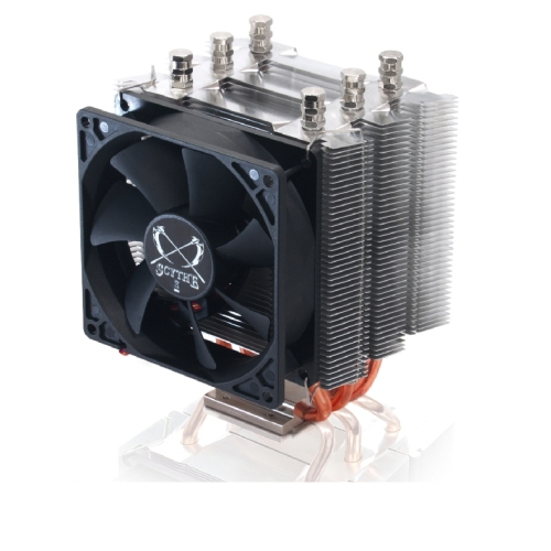 SCYTHE SCKTN-4000 KATANA 4 - 300-2500 RPM, 55.55 CFM, 3 HEATPIPES, 92 MM FAN, 31.07 DBA