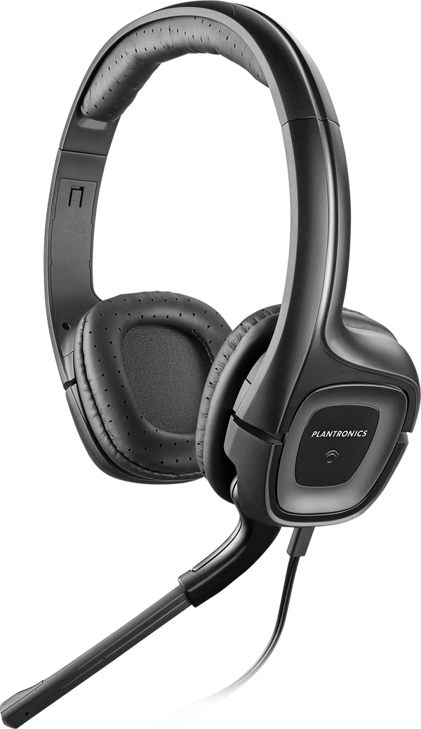 PLANTRONICS 79730-05 .AUDIO 355 MULTIMEDIA HEADSET BINAURAL HEAD-BAND BLACK