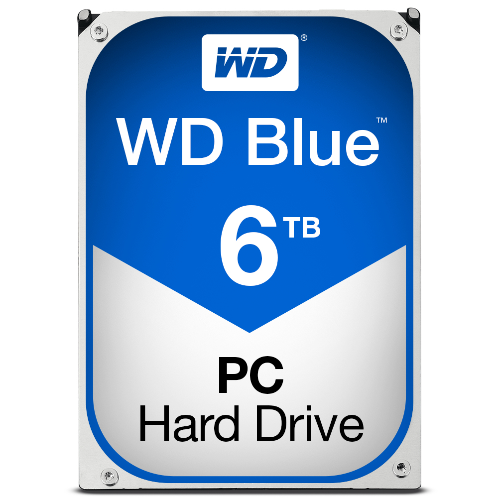 WESTERN DIGITAL BLUE HDD 6000GB SERIAL ATA III INTERNAL HARD DRIVE