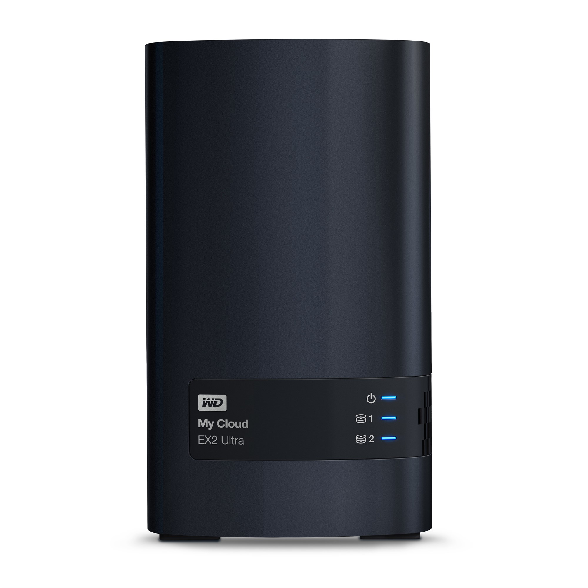 WESTERN DIGITAL MY CLOUD EX2 ULTRA NAS DESKTOP ETHERNET LAN BLACK