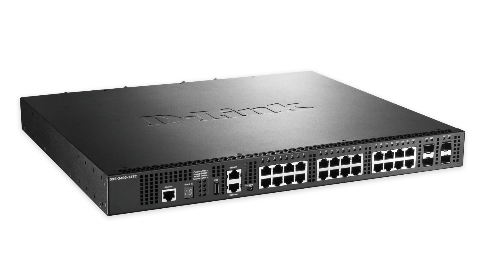 D-LINK DXS-3400-24TC MANAGED NETWORK SWITCH L3 GIGABIT ETHERNET BLACK
