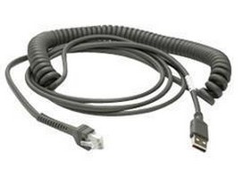 ZEBRA 4.6M USB A MALE GREY CABLE