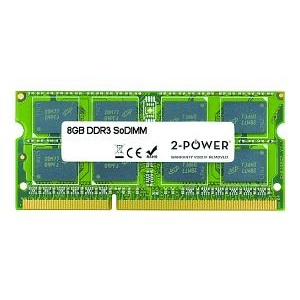 2-POWER MEM0803A 8GB DDR3 SODIMM 1600MHZ MEMORY MODULE
