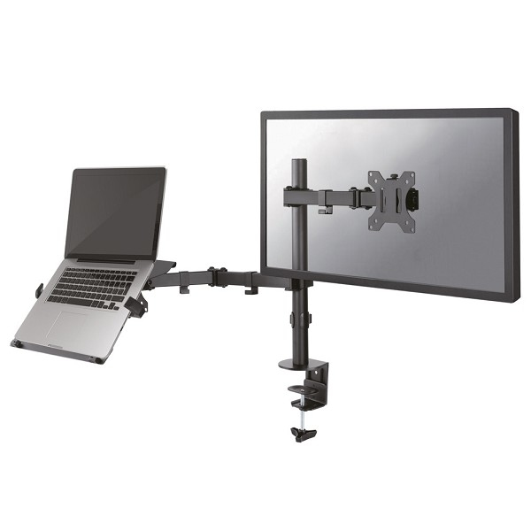 NEWSTAR FPMA-D550NOTEBOOK FULL MOTION AND DESK MOUNT (CLAMP) FOR 10-27