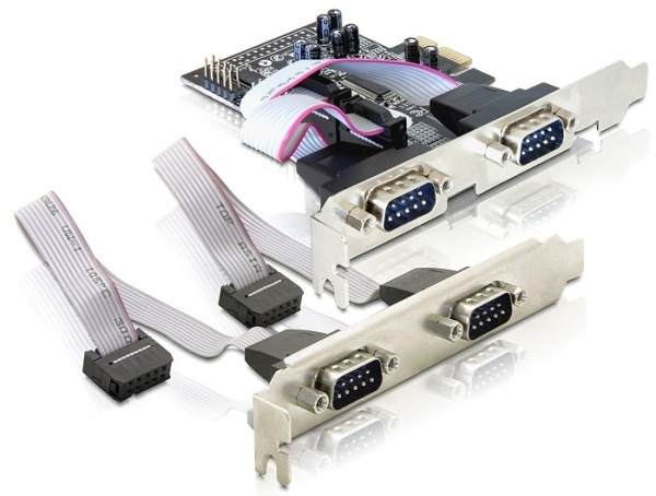 DELOCK 89178 4 X SERIAL PCI EXPRESS CARD
