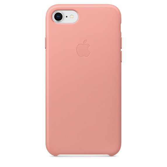 APPLE IPHONE 8 / 7 LEATHER CASE - SOFT PINK