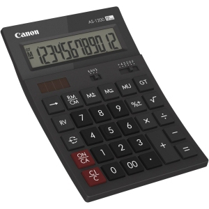 CANON AS1200HB DESKTOP BASIC GREY CALCULATOR