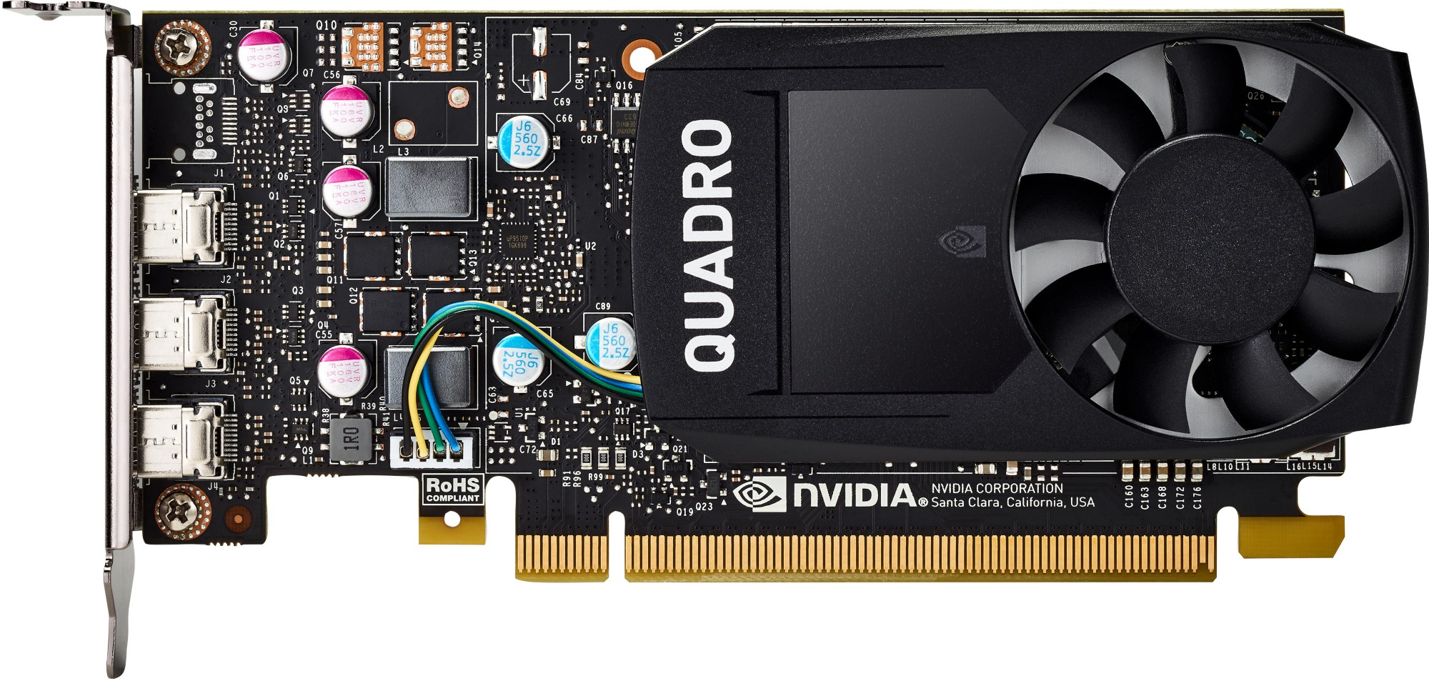 HP 1ME43AA NVIDIA QUADRO P400 2GB GRAPHICS