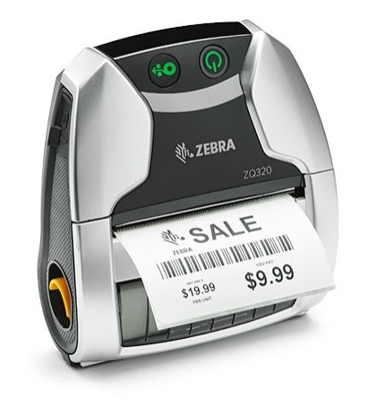 ZEBRA ZQ320 DIRECT THERMAL 203 X 203DPI LABEL PRINTER
