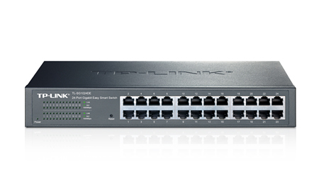 TP-LINK JETSTREAM MANAGED NETWORK SWITCH L2 GIGABIT ETHERNET BLACK