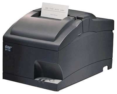 STAR MICRONICS 39332440 SP742MD HIGH SPEED CLAMSHELL RECEIPT PRINTER, AUTOCUTTER, NON-INTERFACE