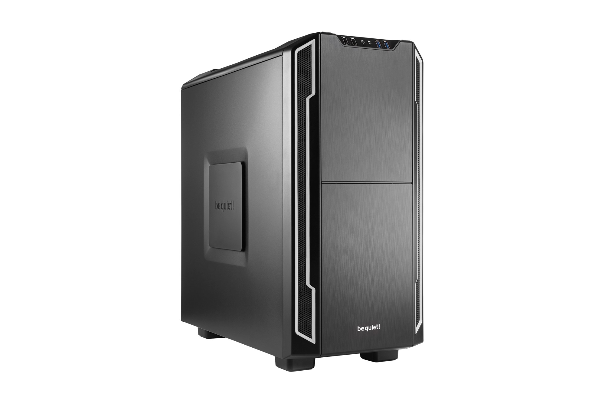 BE QUIET! BG007 SILENT BASE 600 DESKTOP BLACK,SILVER COMPUTER CASE