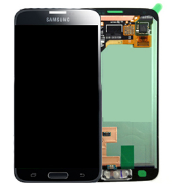 SAMSUNG LCD FRONT ASSEMBLY (BLACK)