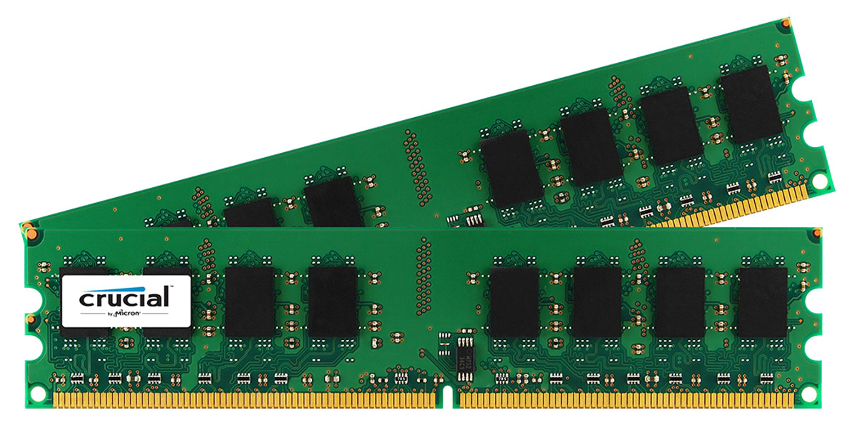 CRUCIAL CT2KIT25664AA800 4GB DDR2 800MHZ MEMORY MODULE