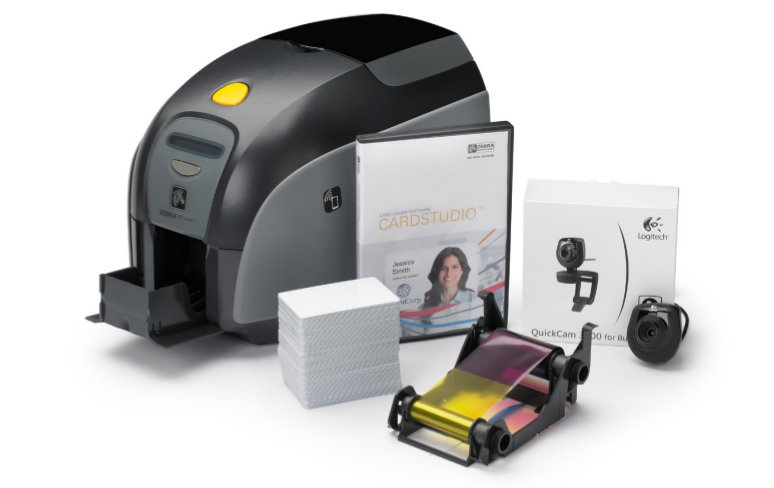 ZEBRA ZXP 1 QUIKCARD DIRECT THERMAL / TRANS COLOUR LABEL PRINTER