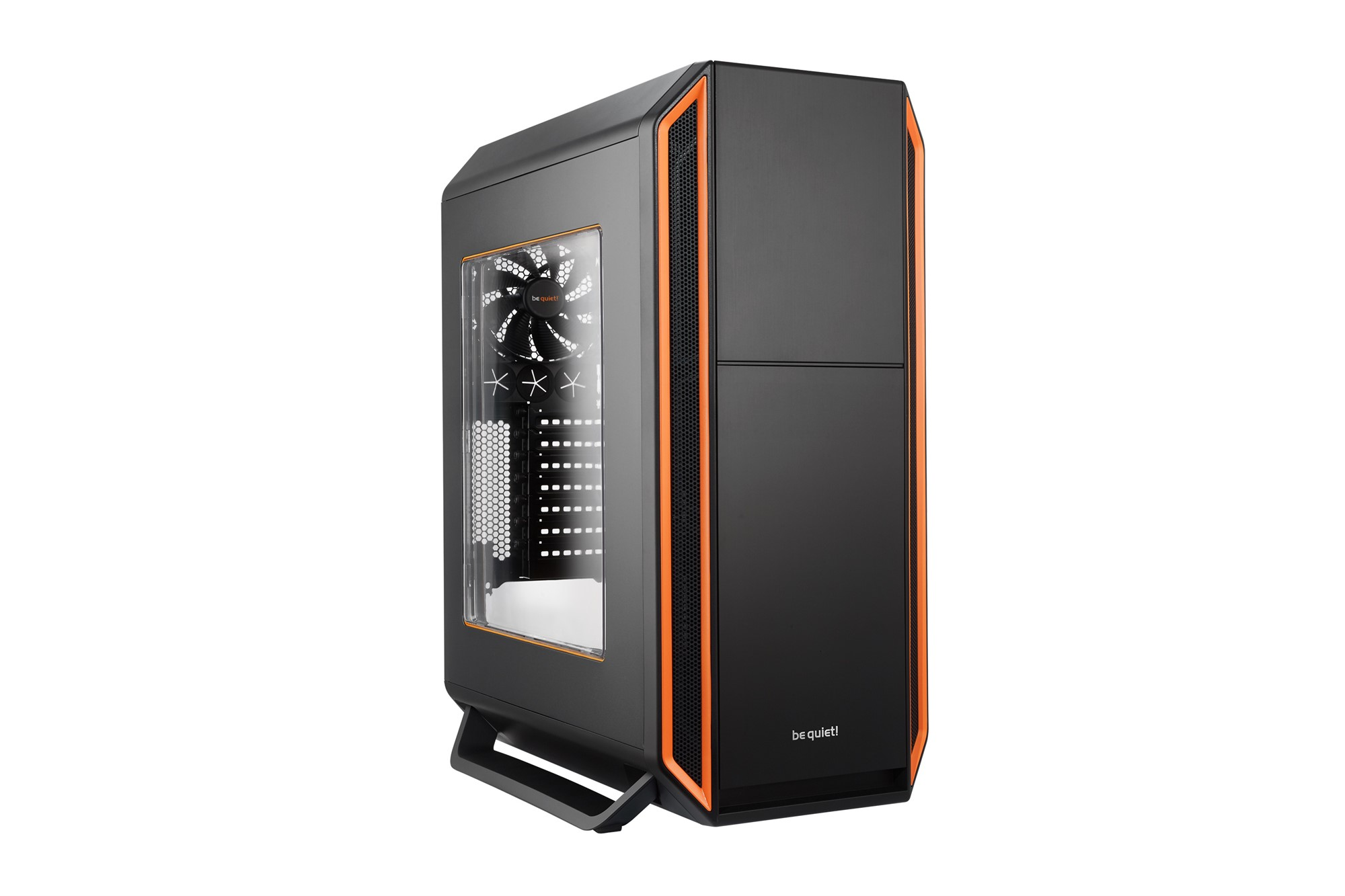 BE QUIET! BGW01 SILENT BASE 800 TOWER BLACK,ORANGE COMPUTER CASE