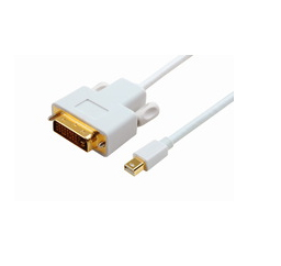 MICROCONNECT MDPDVI1 MINI DISPLAYPORT - DVI, M/M, 1 M